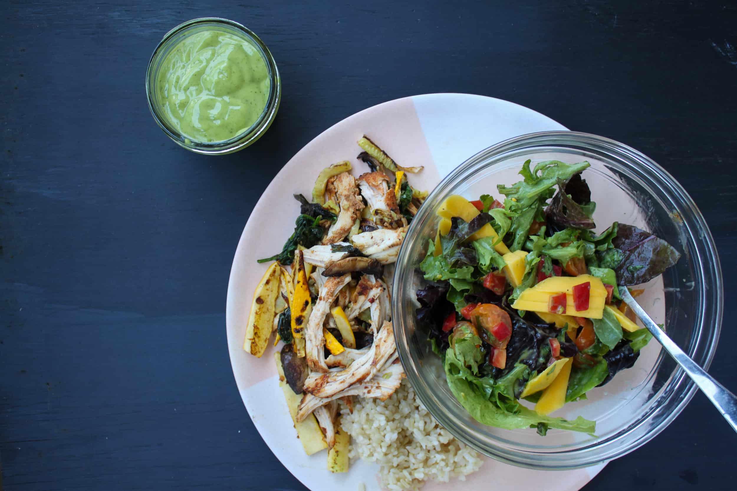 lime cilantro salad dressing 1 of 2