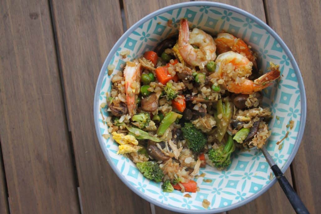 Veggie-Packed Fried Rice (With Paleo Option)