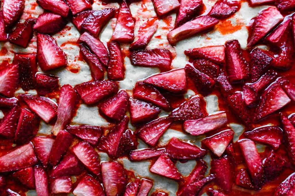 Simplest Roasted Strawberries