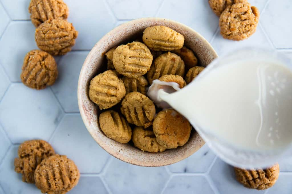 4 Ingredient Peanut Butter Cookie Cereal (Gluten and Grain Free)