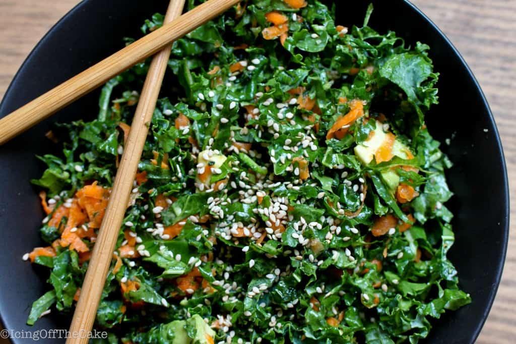 Citrus Kale-Avocado Salad
