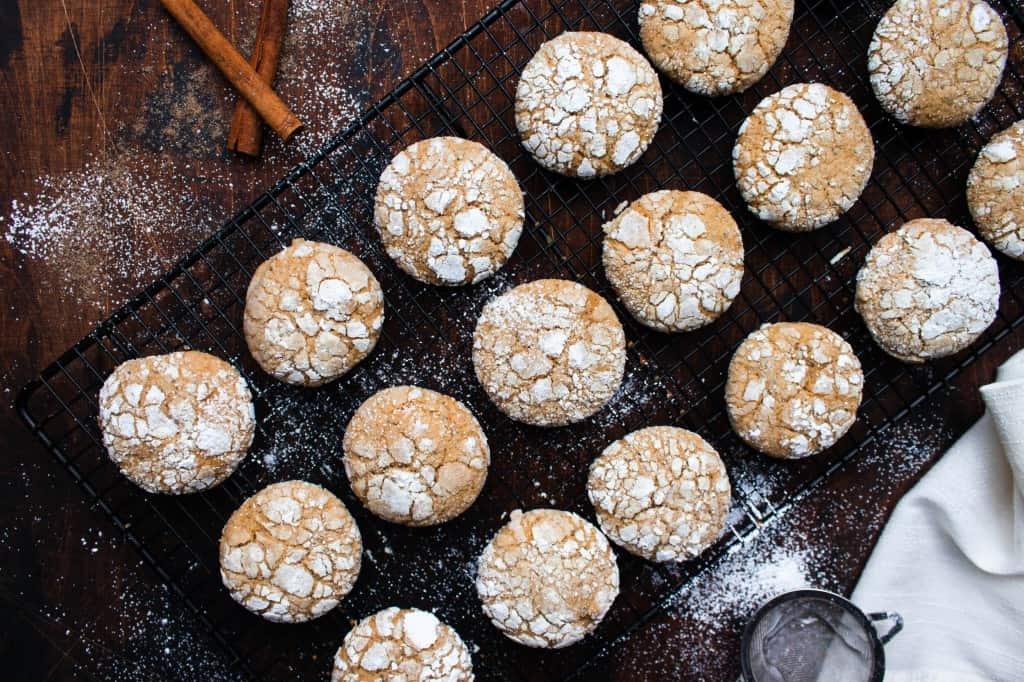 Chai Crinkle Cookies