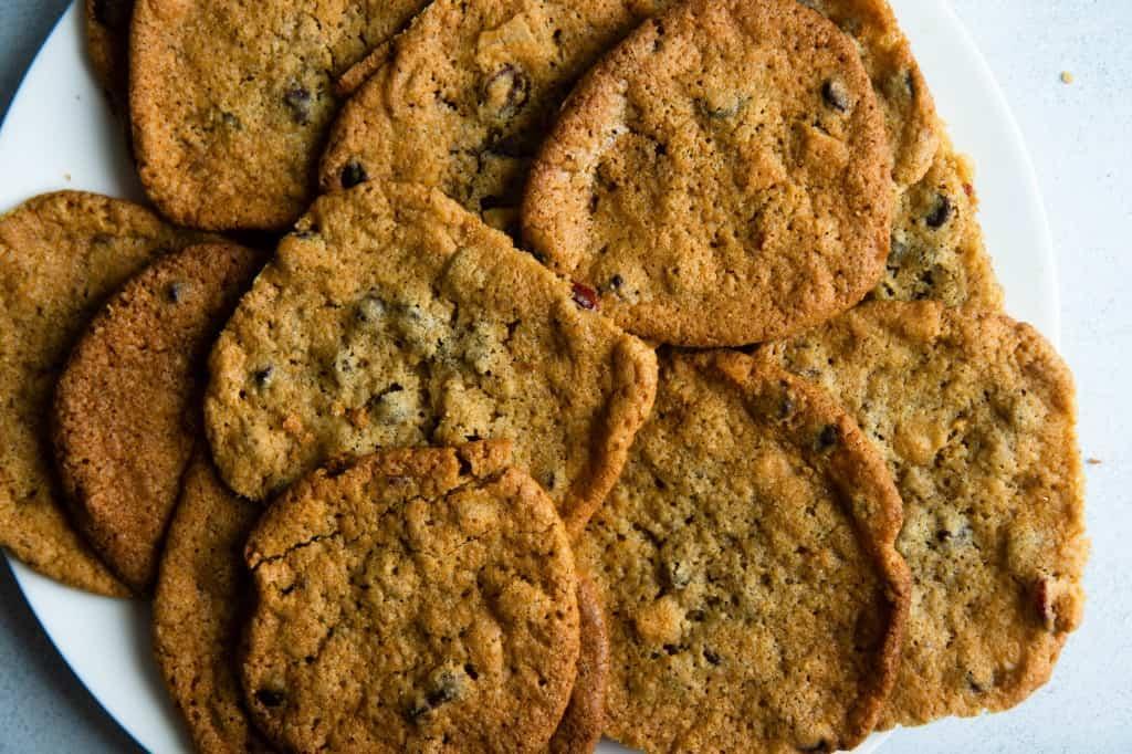 Thin & Crispy Customizable Cookies