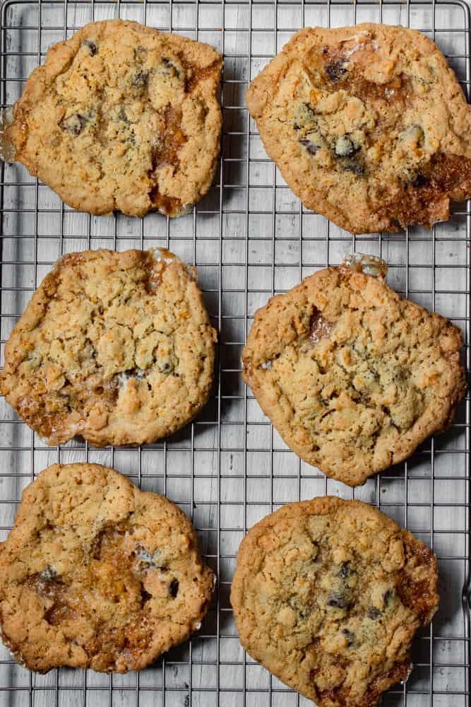 Seriously Addictive Cornflake Krispie Cookies