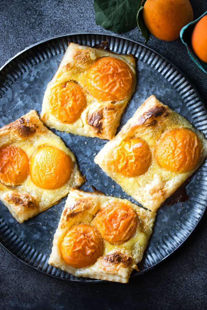 Apricot, Orange & Creamcheese Danishes